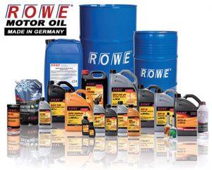 Catalog lubrifianti ROWE
