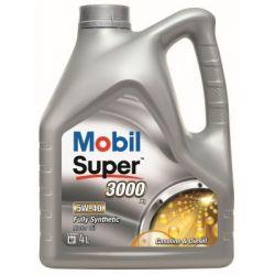 MOBIL SUPER 3000 X1 SAE 5W40 4L