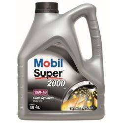 MOBIL SUPER 2000 X1 SAE 10W40 4L