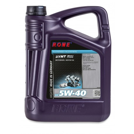 HIGHTEC SYNT RS SAE 5W-40I 5L