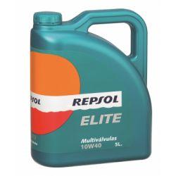 REPSOL ELITE MULTIVALVULAS SAE 10W40 5 L